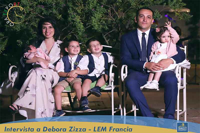 Intervista a Debora Zizza - LOCAL EXPORT MANAGER FRANCIA