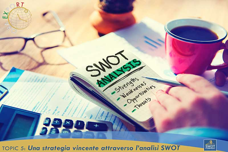 TOPIC 5: Una strategia vincente attraverso l'analisi SWOT