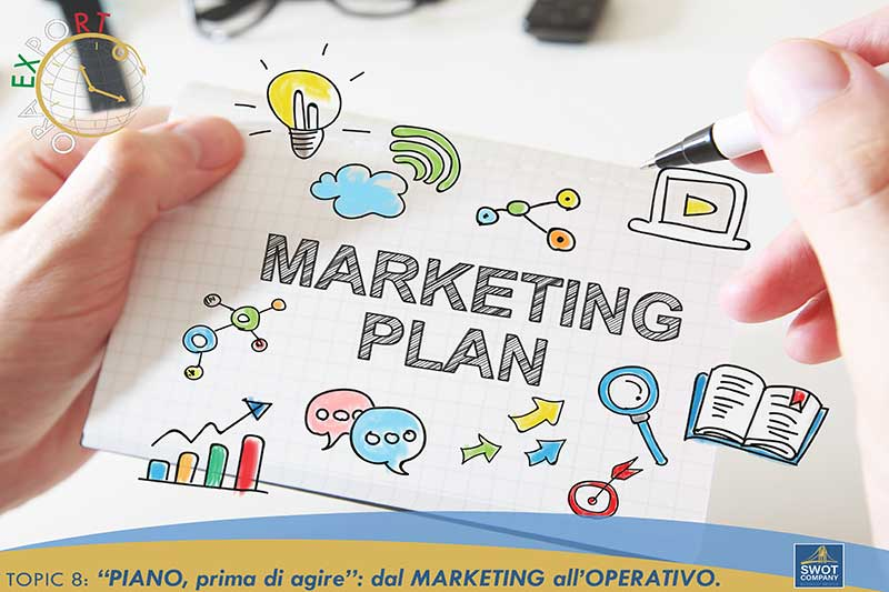 TOPIC 8 - ''PIANO, prima di agire'': dal MARKETING all'OPERATIVO.